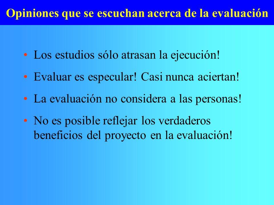 La evaluación es más que VAN y TIR.