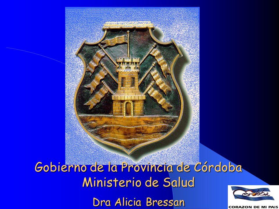 MINISTERIO DE SALUD DE LA PROVINCIA DE CÓRDOBA