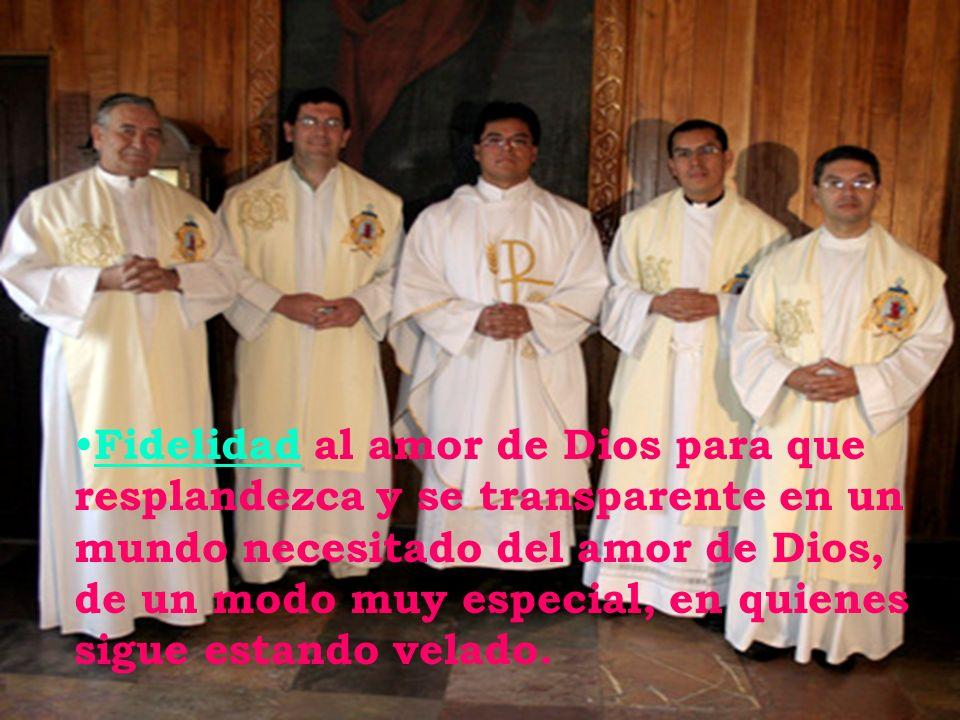 Pantanal Ese determinado modo de vida y seguimiento a Jesús, el agustino recoleto lo quiere hacer visible por medio de: