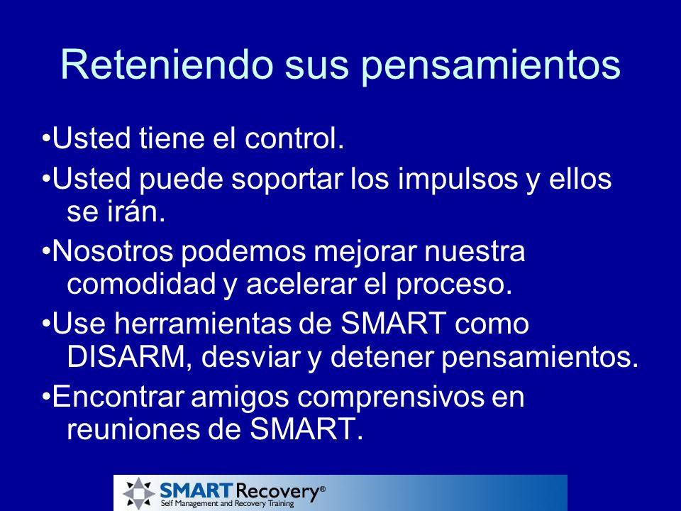 !Gracias.!Gracias por su interés en SMART Recovery®.