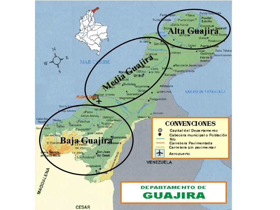 Héctor Sanín Angel Baja Guajira Media Guajira Alta Guajira