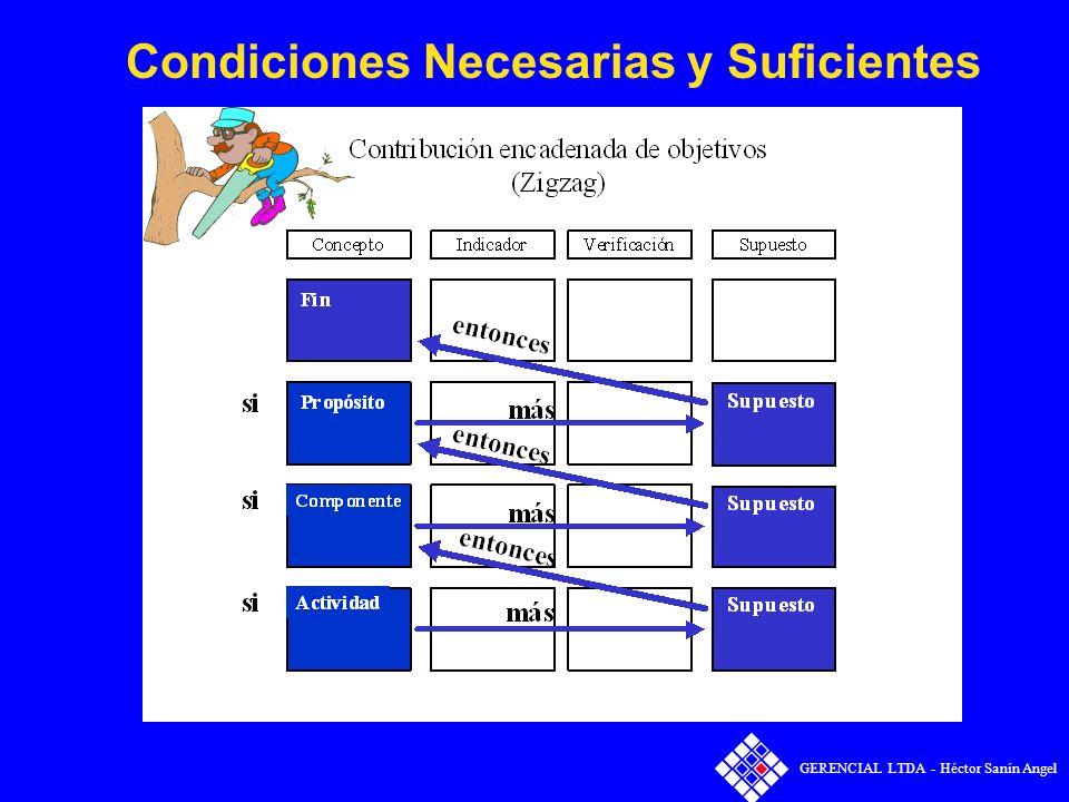 Condiciones Necesarias y Suficientes GERENCIAL LTDA - Héctor Sanín Angel