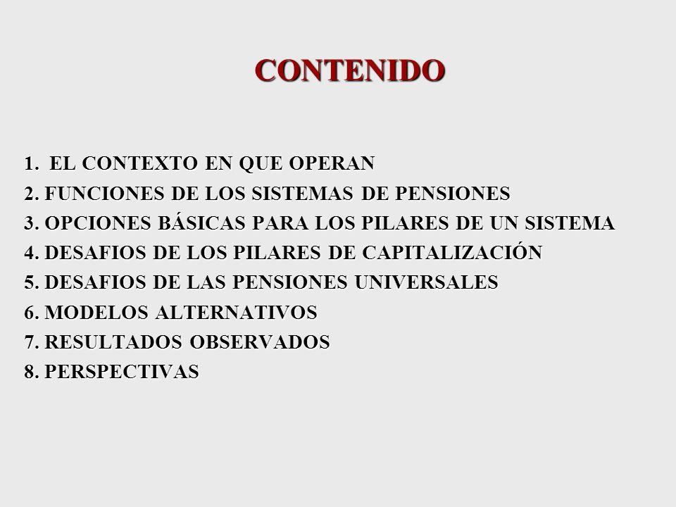 EVOLUCIÓN DEL MERCADO LABORAL Y SU IMPACTO EN LOS SISTEMAS DE PENSIONES ANDRAS UTHOFF COMISIÓN ECONÓMICA PARA AMERICA LATINA Y EL CARIBE CEPAL CURSO FINANCIAMIENTO DE LA SEGURIDAD SOCIAL 2004