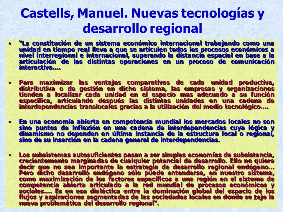 23 Castells, Manuel.