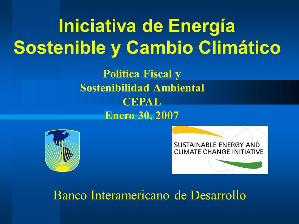 12 Pilar 1 – ER/EE Oportunidades en EE Gran potencial de ahorro de energía en sectores clave en LAC (hasta un 85% en industria) Gran potencial de ahorro de energía en sectores clave en LAC (hasta un 85% en industria)