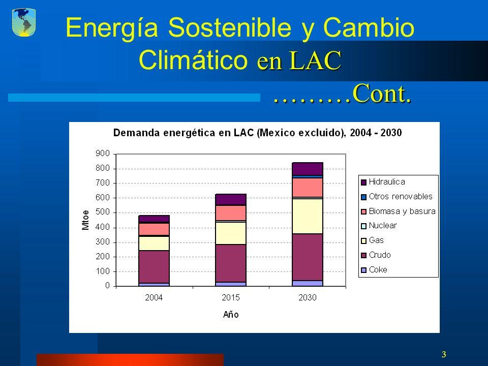 4 Principales motivos de ER Diversificación energética Contribuir a objetivos de desarrollo (MDG) Desarrollo tecnológico y economías de escala con ER/EE Menor dependencia de combustibles fósiles Menor dependencia de combustibles fósiles Creciente financiamiento de carbono como incentivo para planificadores de energía, reguladores y desarrolladores Seguridad energética