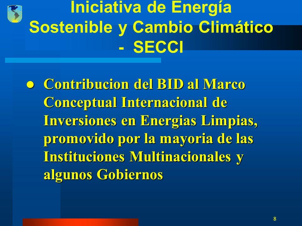 29 Fortalecer la capacidad del BID de generar resultados con SECCI Con instrumentos existentes (i.e.