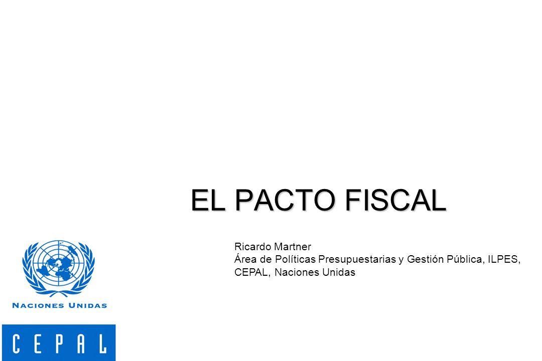 Combinar responsabilidad fiscal con estabilidad macroeconómica Elevar la calidad del gasto público Promover la equidad Dotar de mayor transparencia a la acción fiscal y favorecer el desarrollo de la institucionalidad democrática Cuatro principios para un Pacto fiscal