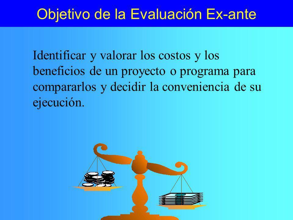 Monitoreo y Evaluación Se funden en el caso de programas PreinversiónInversiónOperación Formulación y evaluación Monitoreo y evaluación de proceso Evaluación de resultados e impactos Evaluación Ex-Post Evaluación socio- económica