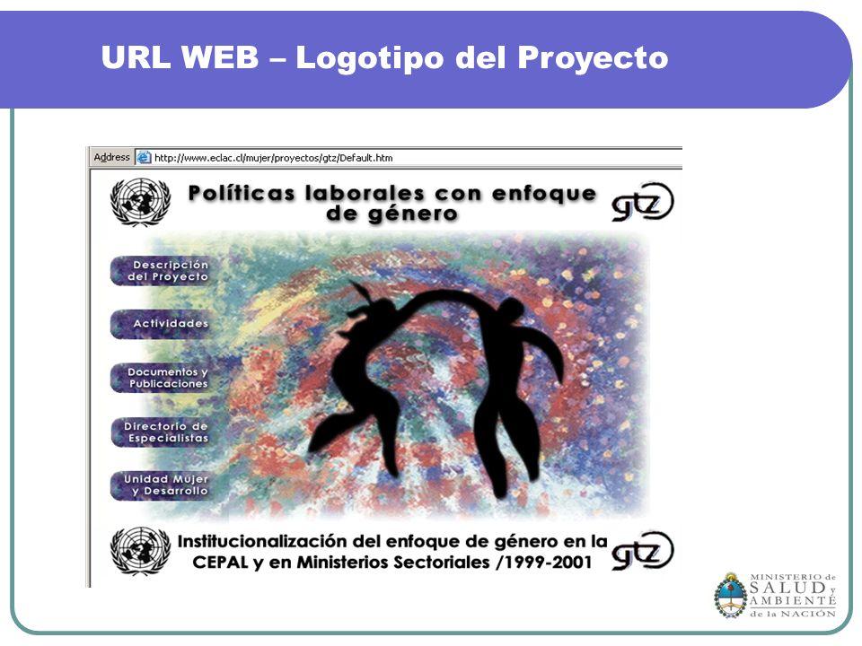 URL WEB – Logotipo del Proyecto