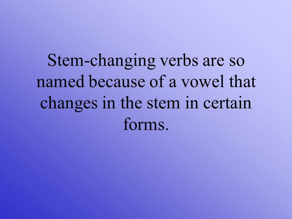 This change occurs when that vowel is stressed.