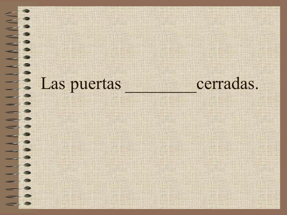 Sancho y Miguel ____listos y siempre sacan una A.