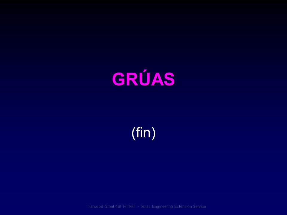 GRÚAS (fin)