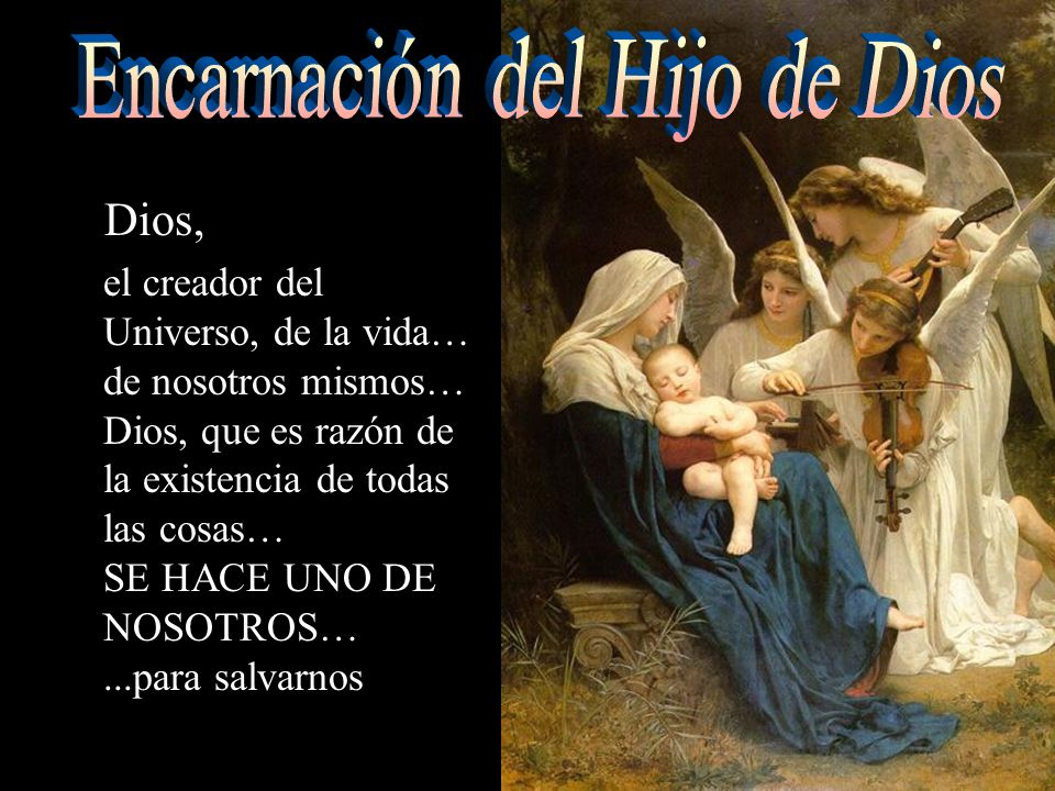 Se conmemora el nacimiento de Jesucristo, el Hijo de Dios Como los evangelios no mencionan fechas, no es seguro que Jesús naciera ese día.