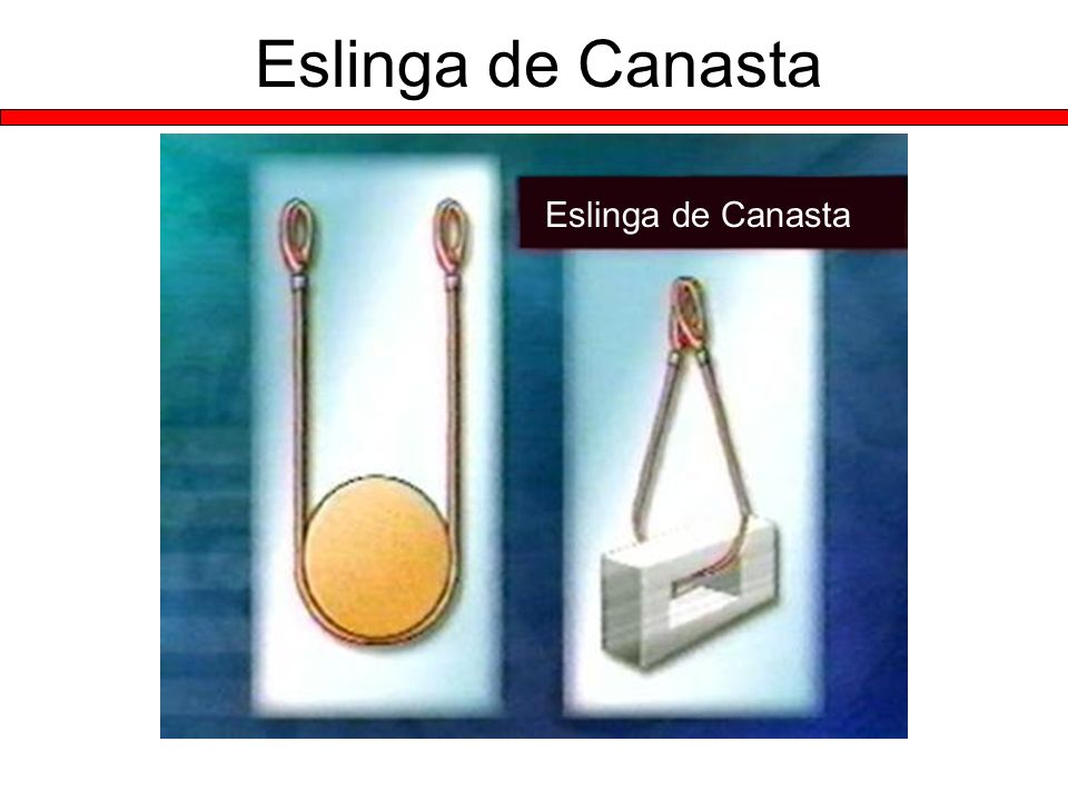 Eslinga de Canasta