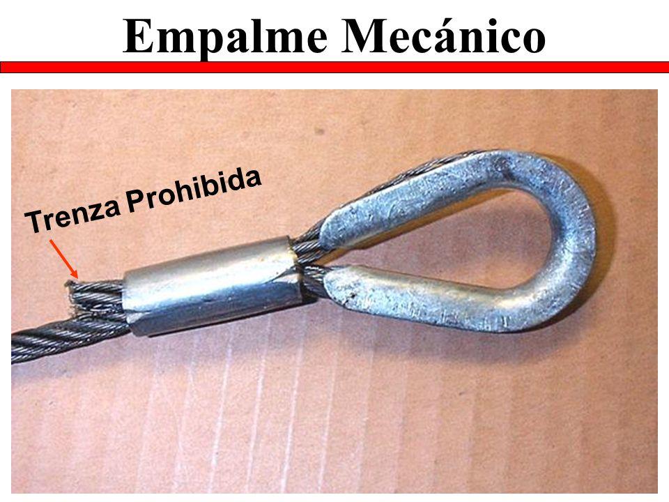 Empalme Mecánico Trenza Prohibida