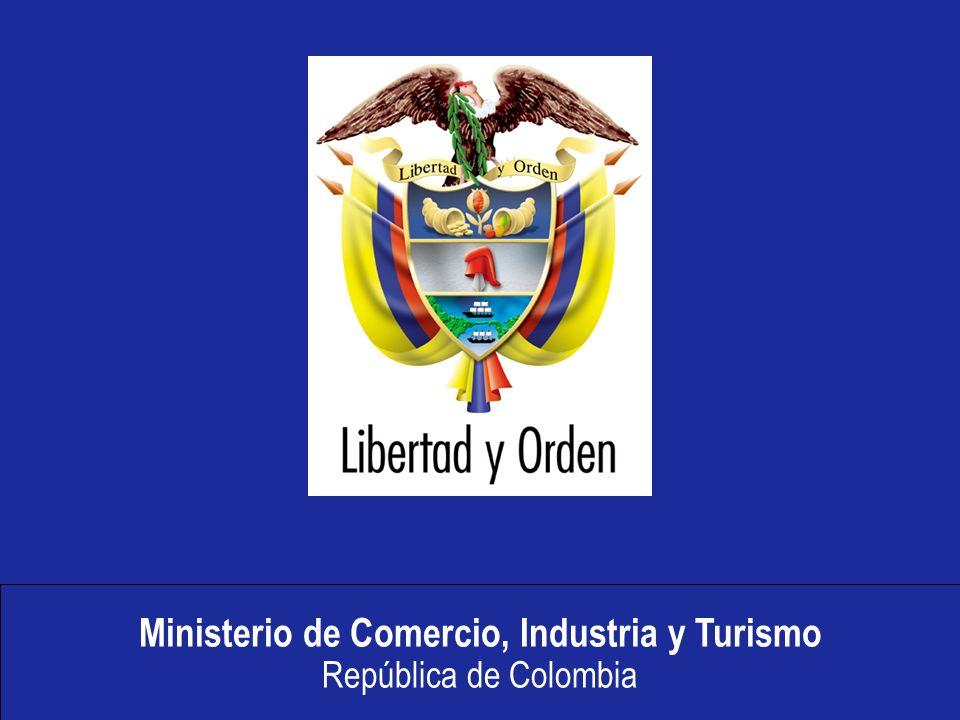 Ministerio de Comercio, Industria y Turismo República de Colombia ICA MINAGRICULTURA INCODER MINAMBIENTE INGEOMINAS MINPROTECCION MINCOMERCIO INVIMA SECCIONAL DE SALUD FORMULARIO UNICO DE COMERCIO EXTERIOR CONTENIDO: 1 RUE Y RUT 2 INFORMACION POR ENTIDAD 1 SE REDUCEN 35 FORMULARIOS EN AHORA VUCE MINCULTURA Formulario Único de Comercio Exterior- FUCE