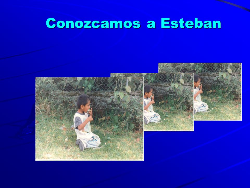 Conozcamos a Esteban