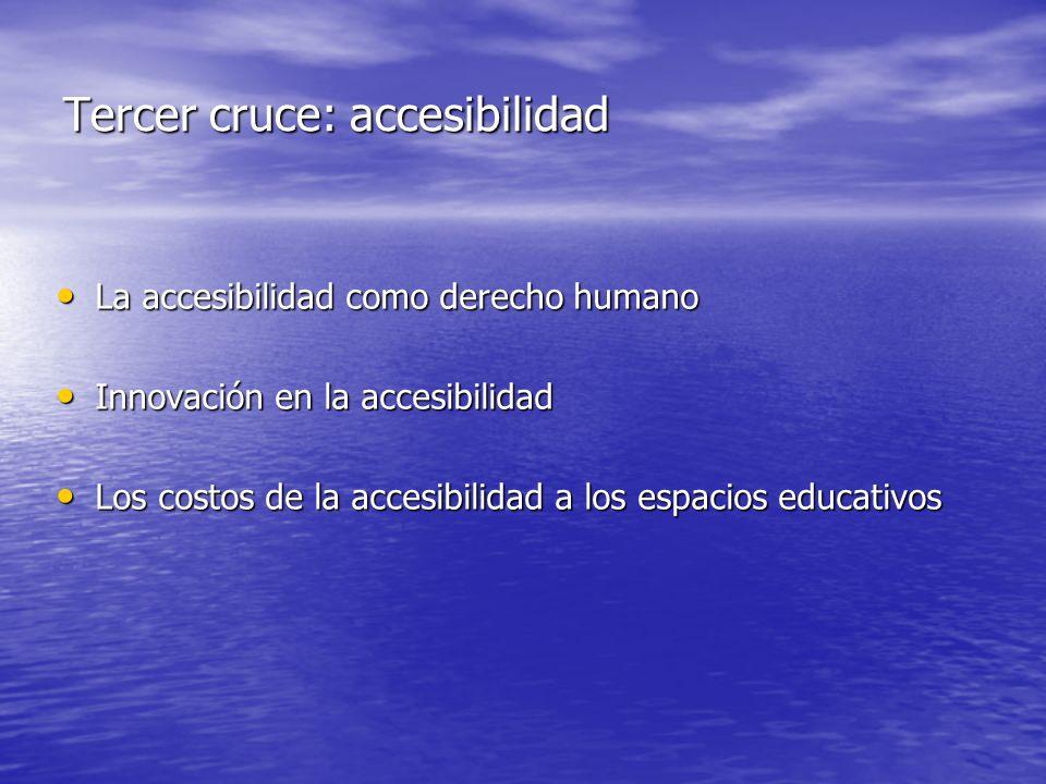 Segundo cruce: espacio para la participación de las familias y la sociedad civil Política educativa hacia el siglo XXI Política educativa hacia el sig