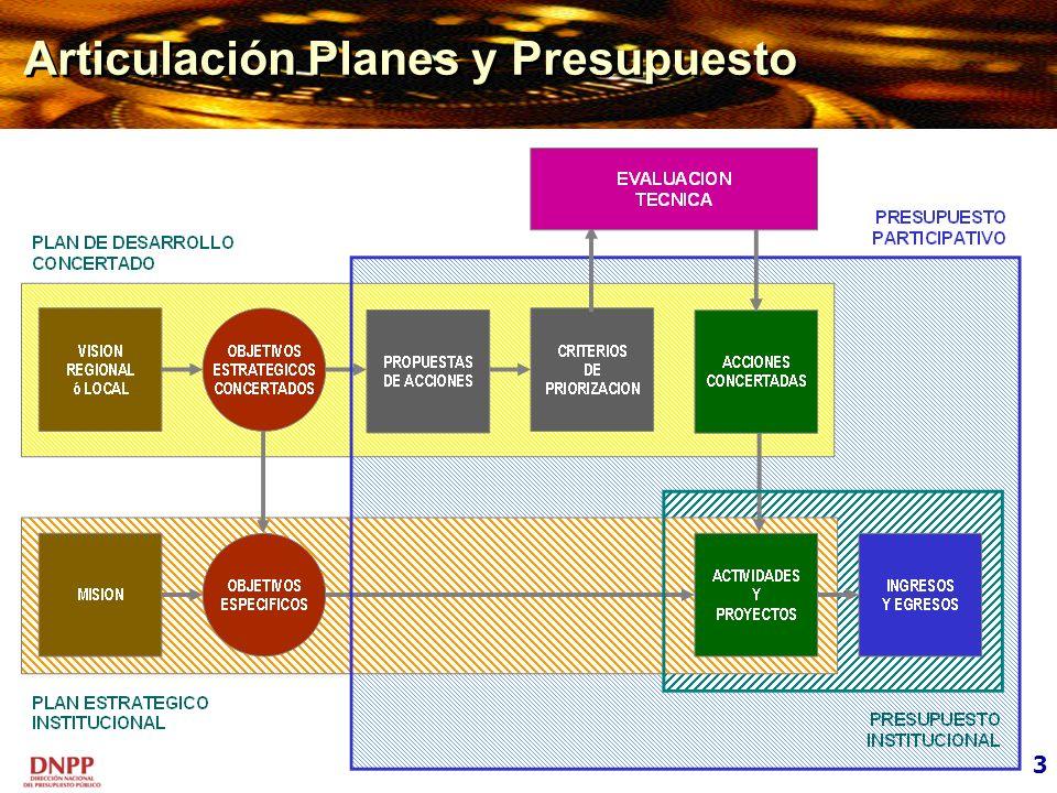 Articulación Planes y Presupuesto 3