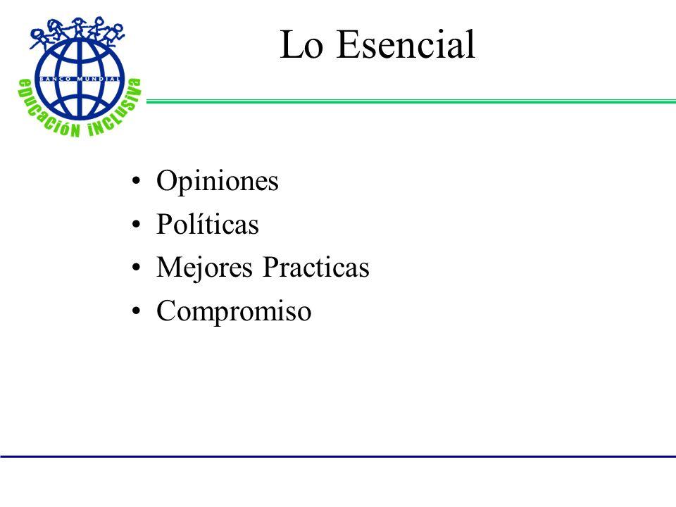 Lo Esencial Opiniones Políticas Mejores Practicas Compromiso