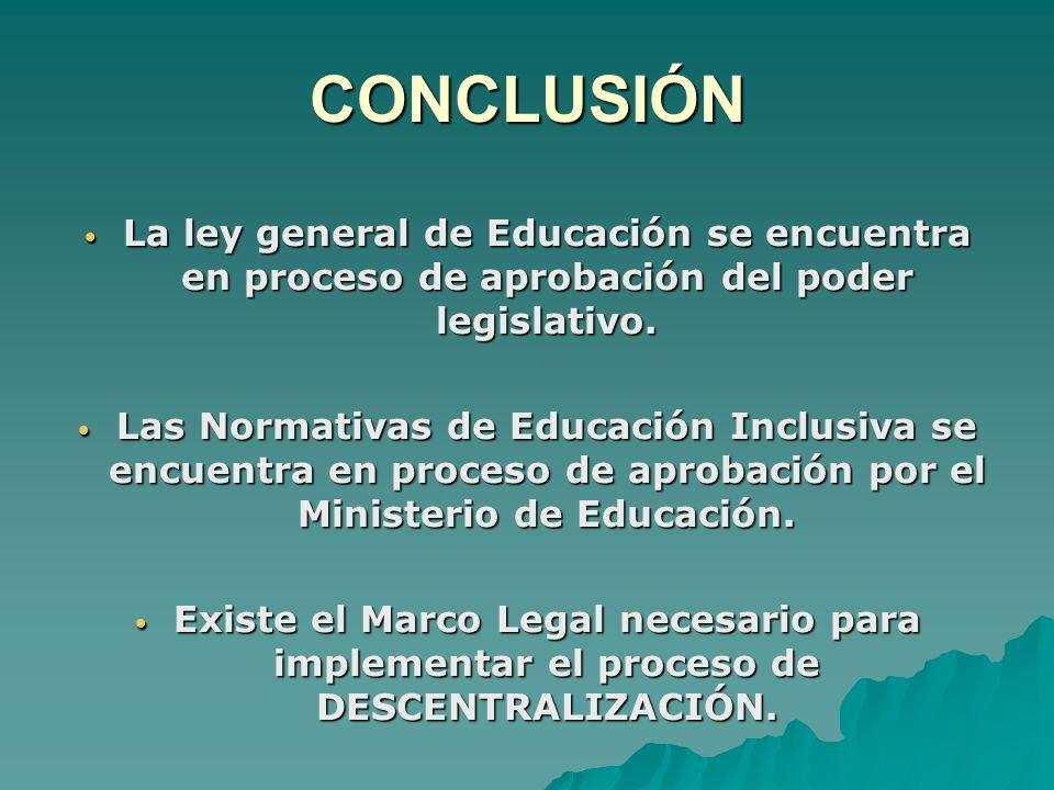 LEY DE PARTICIPACIÓN EDUCATIVA Orientada a mejorar la Calidad y Equidad de la Educación.