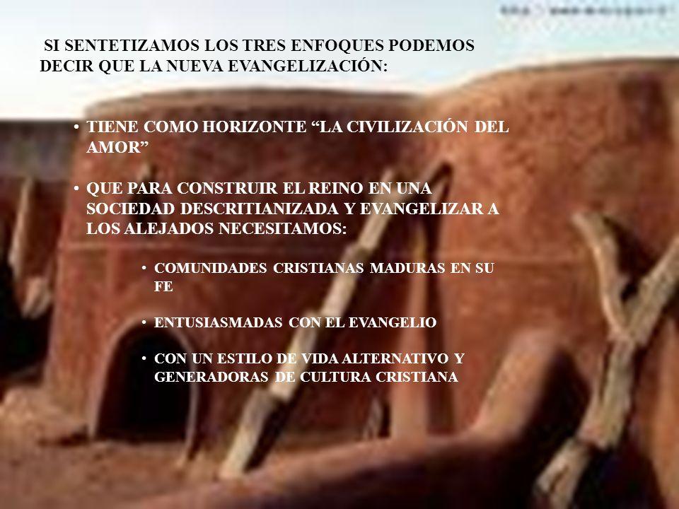 2.6 LA CORRESPONSABILIDAD EN LA LABOR EVANGELIZADORA SI LA EVANGELIZACIÓN DEFINE EL SER Y EL HACER DE LA IGLESIA, SI LA IGLESIA EXISTE PARA LA EVANGELIZACIÓN, TODOS LOS BAUTIZADOS ESTAMOS INVOLUCRADOS EN LA MISIÓN, SERVIDA DESDE LOS CARISMAS Y MINISTERIOS DISTINTOS