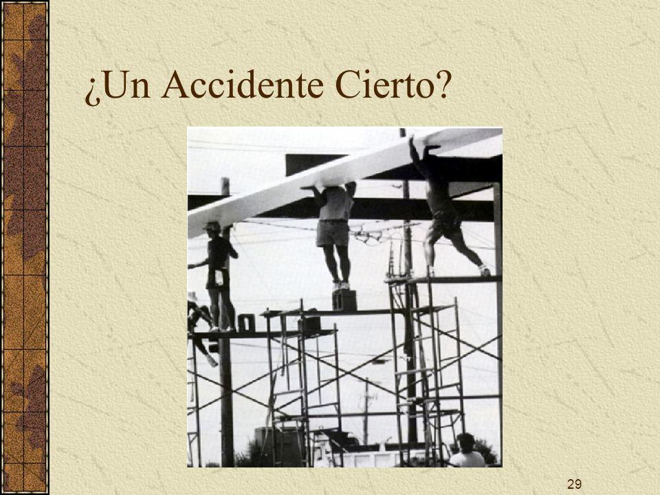 29 ¿Un Accidente Cierto?
