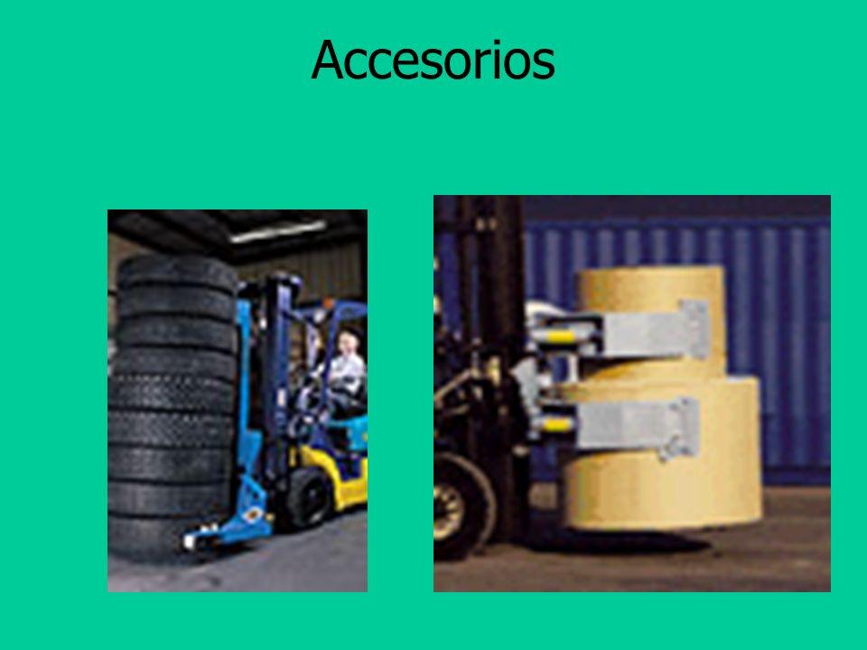 Tipos de Accesorios Brazo Abrazadera para Cajas Abrazadera para barriles Abrazadera para rollos de papel Jaula para personas Accesorios hechos en siti