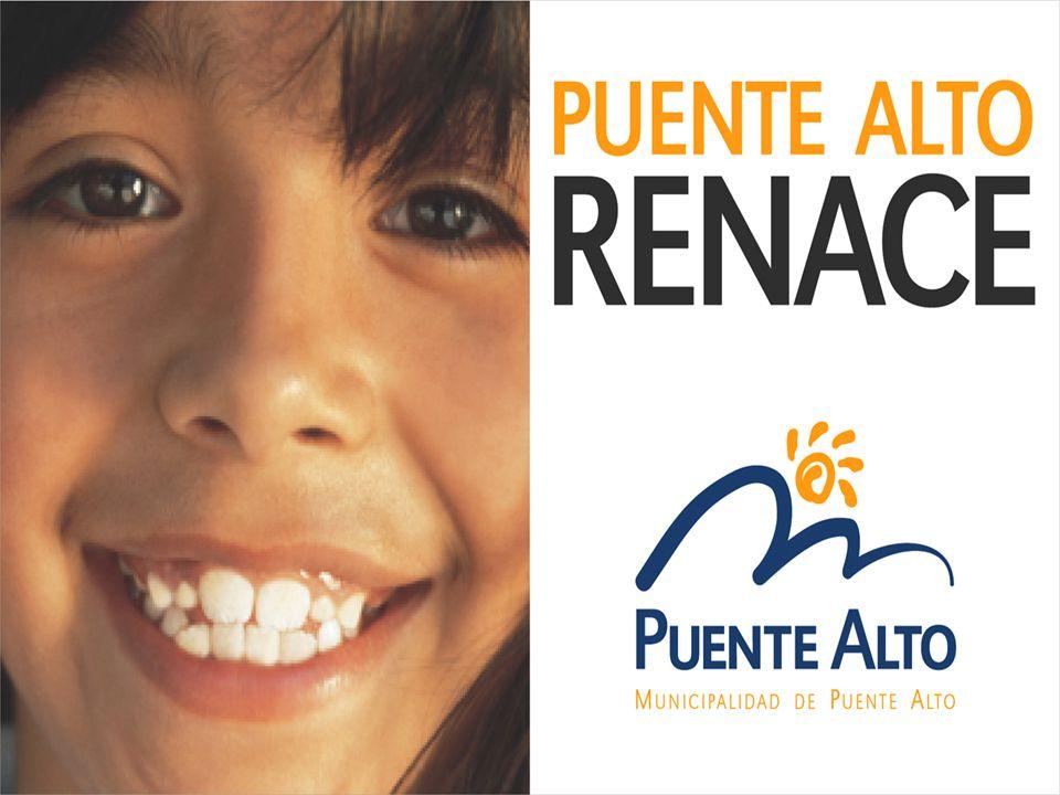 PUENTE ALTO RENACE Cambiarle la Cara Puente Alto una ciudad moderna y segura (#)# Municipio generador de desarrollo (Metro, Censo y acceso sur a Santiago).