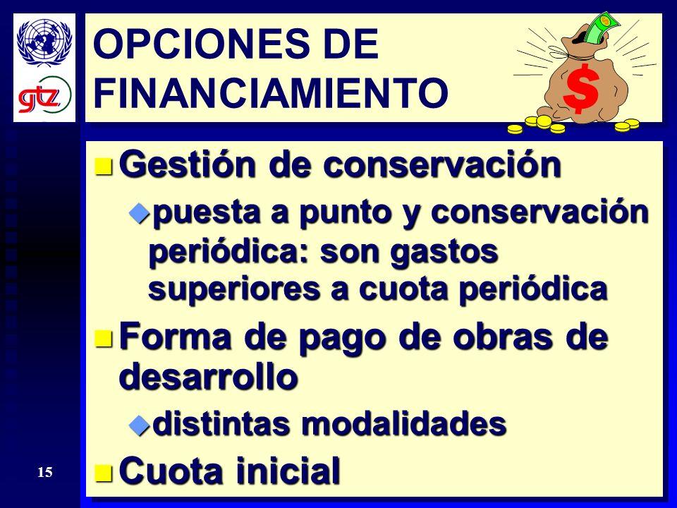 14 ¿PAGO INICIAL.n Disposición a pagar proviene de ahorros por aumentos de eficiencia esperados.