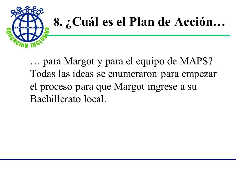 Un MAP es un catalizador para comenzar el proceso de cambio.