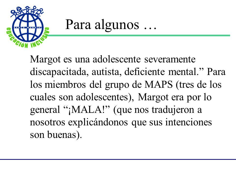 6.¿Cuáles son las virtudes, habilidades, talentos, dones de Margot.