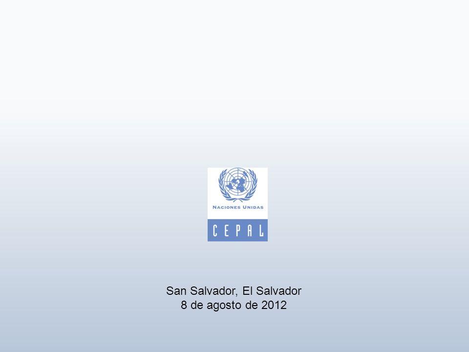 San Salvador, El Salvador 8 de agosto de 2012