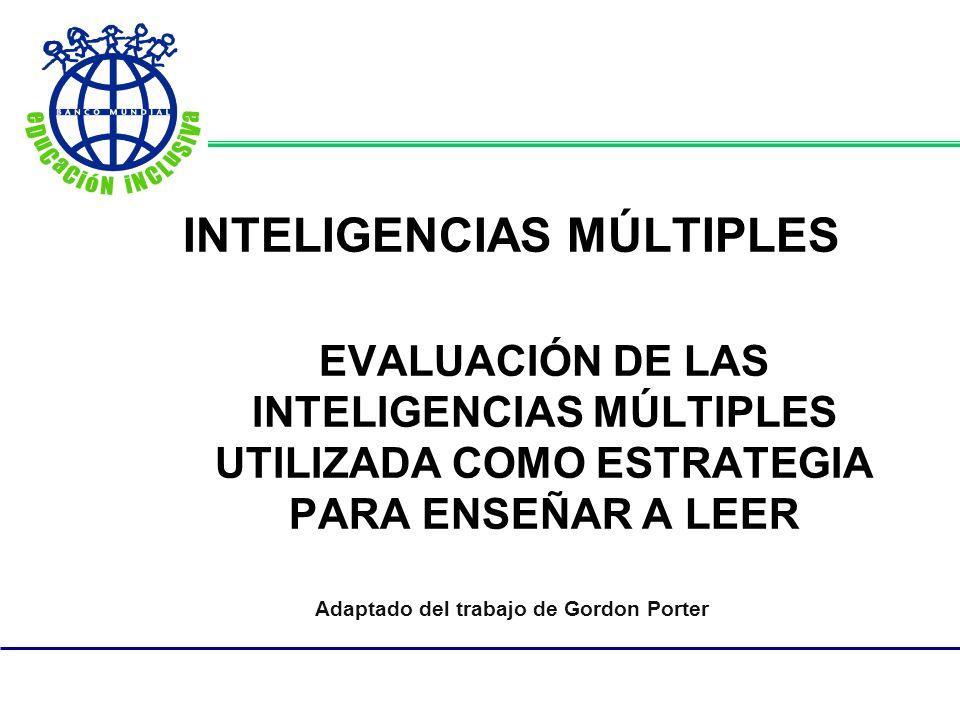 Inteligencia Musical/Rítmica Esta inteligencia se basa en el reconocimiento de patrones tonales, incluyendo sonidos ambientales y la sensibilidad al ritmo y la percusión.