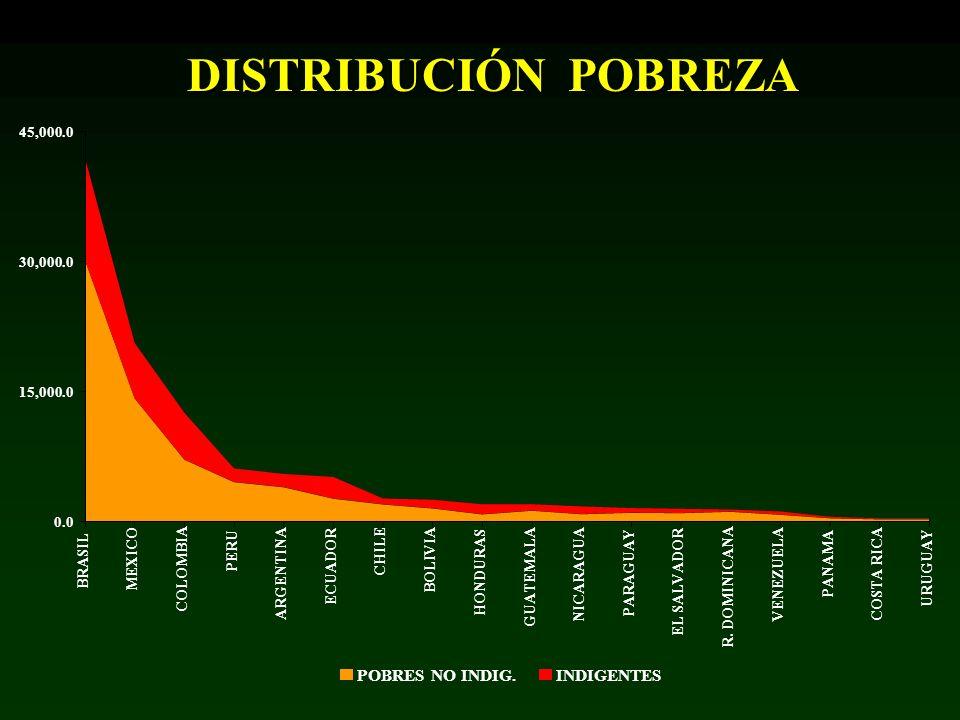 0.0 15,000.0 30,000.0 45,000.0 BRASIL MEXICO COLOMBIA PERU ARGENTINA ECUADOR CHILE BOLIVIA HONDURAS GUATEMALA NICARAGUA PARAGUAY EL SALVADOR R. DOMINI