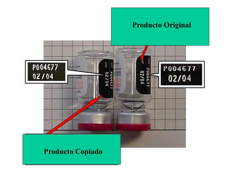 Producto Copiado Producto Original