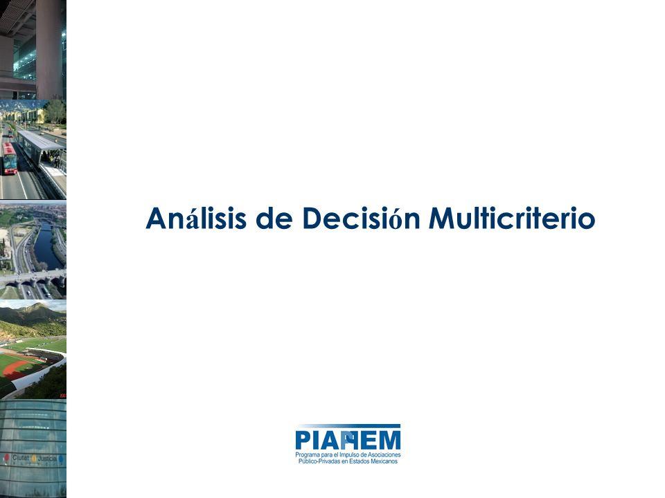 An á lisis de Decisi ó n Multicriterio