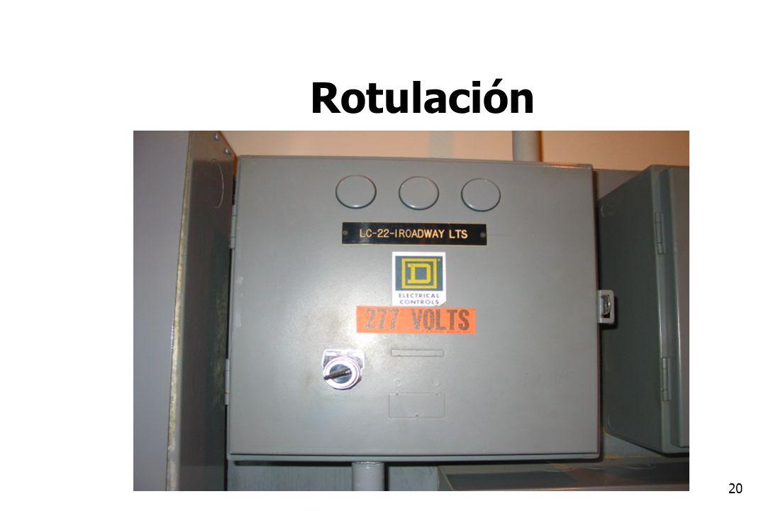 20 Rotulación