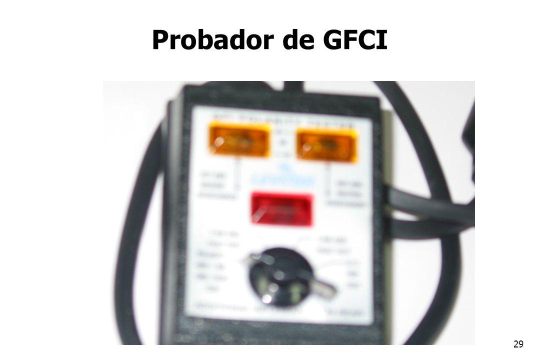 29 Probador de GFCI
