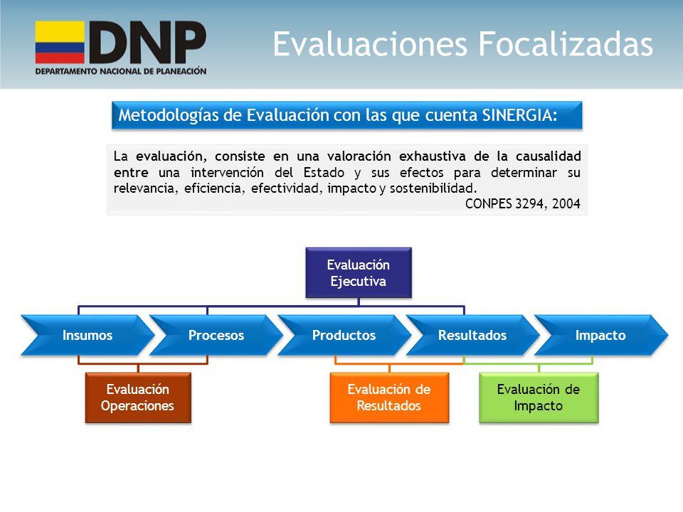 La evaluación, consiste en una valoración exhaustiva de la causalidad entre una intervención del Estado y sus efectos para determinar su relevancia, e