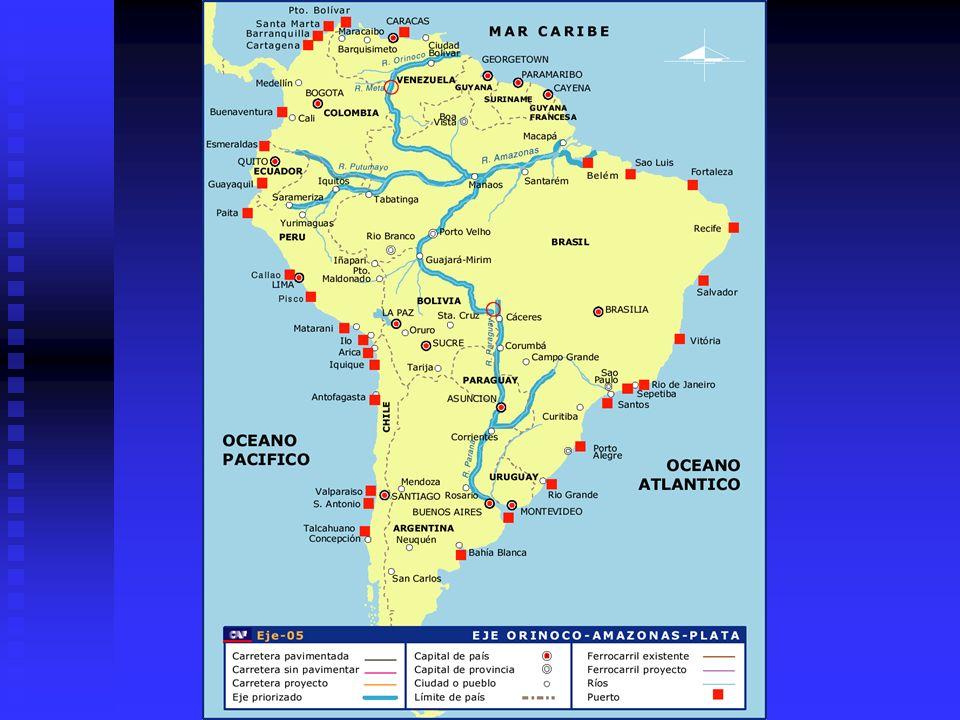 Los avances de 20 meses en la Iniciativa IIRSA Resultado del trabajo en los Procesos Sectoriales Mercados Energéticos Regionales Mercados Energéticos Regionales Proceso Sectorial en funcionamiento Proceso Sectorial en funcionamiento Estrategia diferenciada adaptada a la situación regulatoria de cada uno de los grupos de países (CAN, Guyana-Suriname, y Cono Sur) Estrategia diferenciada adaptada a la situación regulatoria de cada uno de los grupos de países (CAN, Guyana-Suriname, y Cono Sur) Estrategia: desarrollar estructura de mercado energético regional con impactos aceptables a cada país Estrategia: desarrollar estructura de mercado energético regional con impactos aceptables a cada país Levantamiento de un mapa de la situación regulatoria de cada país (realizado en 9 países) Levantamiento de un mapa de la situación regulatoria de cada país (realizado en 9 países) Marcos regulatorios e intercambios energéticos Marcos regulatorios e intercambios energéticos Estado de situación de iniciativas subregionales Estado de situación de iniciativas subregionales Seguridad jurídica Seguridad jurídica Participación del sector privado Participación del sector privado Gradualismo en la implementación Gradualismo en la implementación Creación de Mercados Regionales Creación de Mercados Regionales
