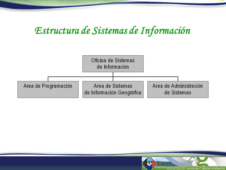 Estructura de Sistemas de Información