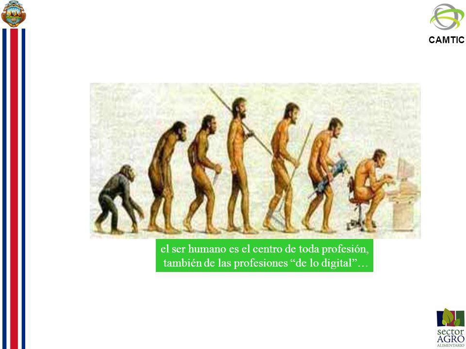 CAMTIC el ser humano es el centro de toda profesión, también de las profesiones de lo digital…