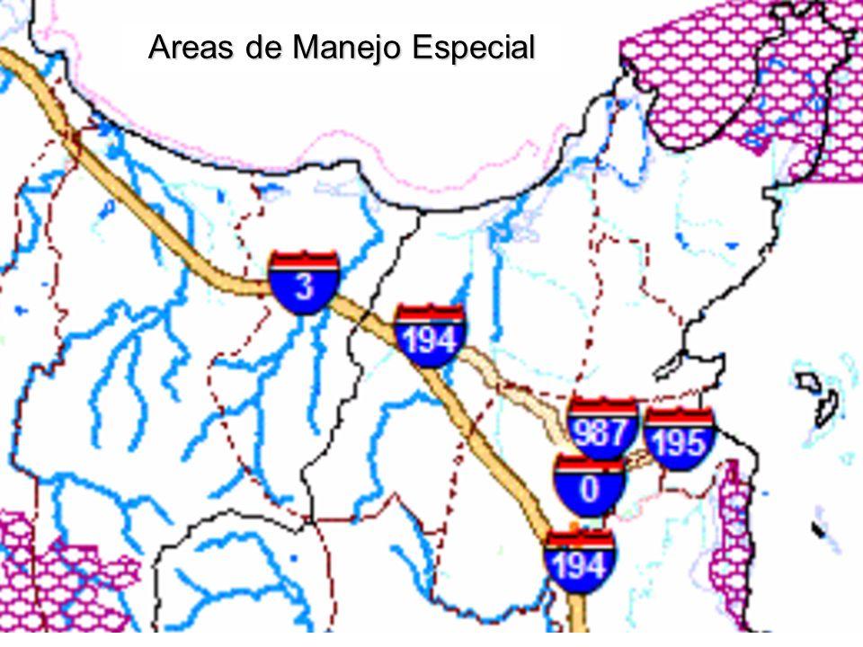Areas de Manejo Especial