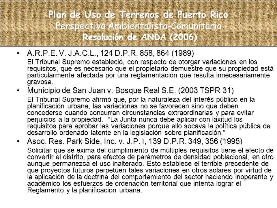 A.R.P.E. V. J.A.C.L., 124 D.P.R. 858, 864 (1989)A.R.P.E.