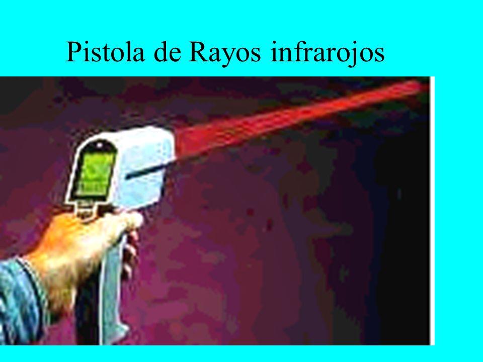 Pistola de Rayos infrarojos