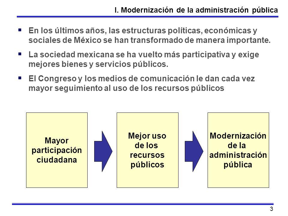 3 En los últimos años, las estructuras políticas, económicas y sociales de México se han transformado de manera importante. La sociedad mexicana se ha