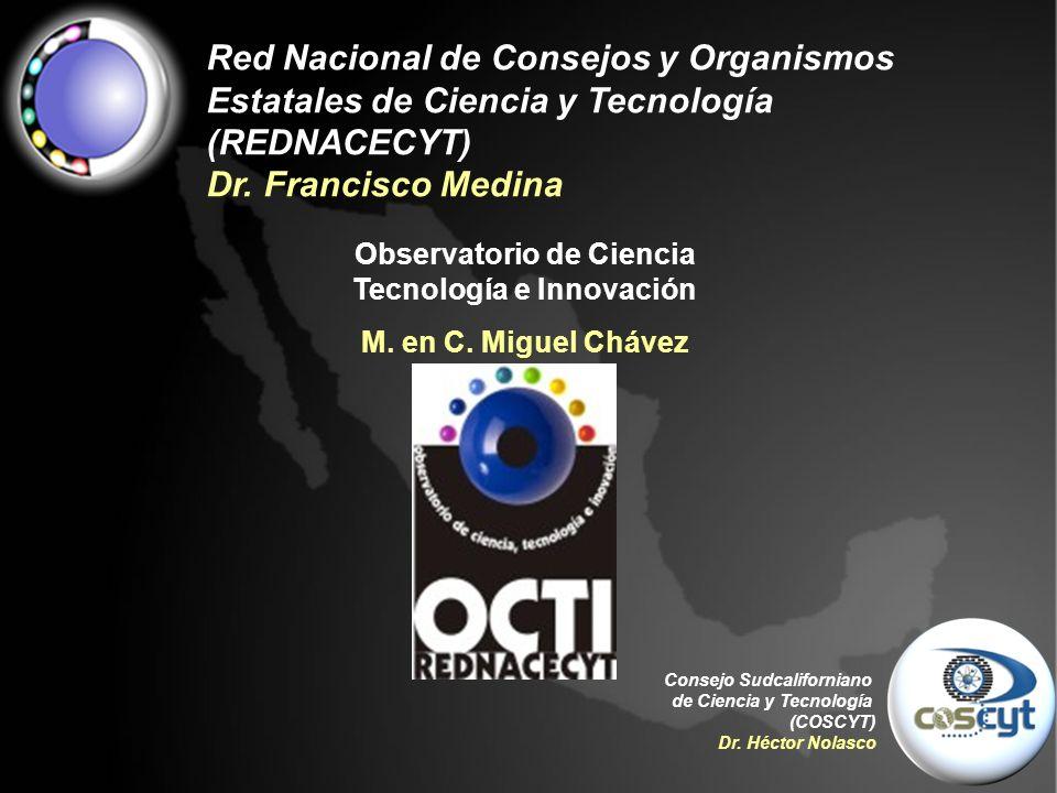 Consejo Sudcaliforniano de Ciencia y Tecnología (COSCYT) Dr.