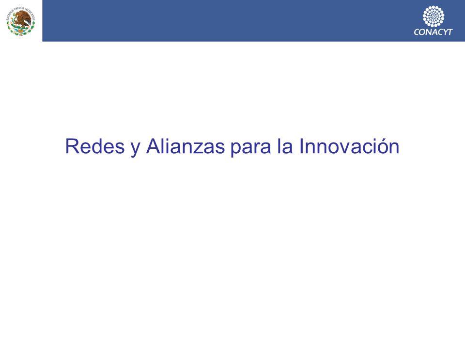 Redes de Innovación para la Competitividad Deriven en un futuro mediato en Consorcios de Innovación.